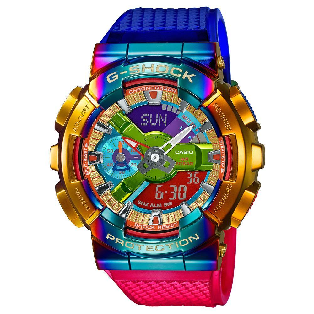 G-Shock Metal Rainbow Bezel Watch GM-110RB-2A