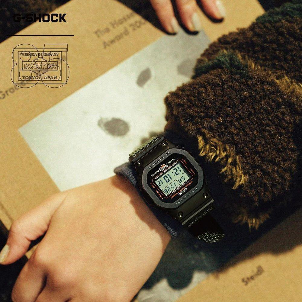 G-Shock x Porter Yoshida&Co Limited Edition GM-5600EY-1