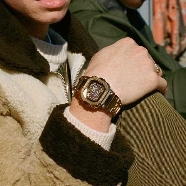 G-Shock Full Metal Edition Gold Watch GMW-B5000GD-9