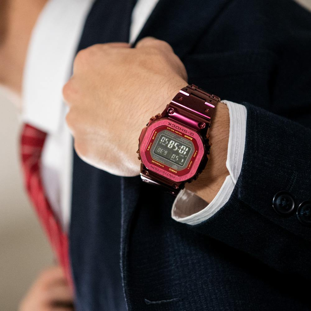 G-Shock Full Metal Red Edition Watch GMW-B5000RD-4