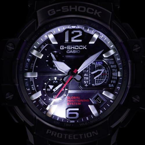 G-SHOCK GRAVITYMASTER Watch LED Light
