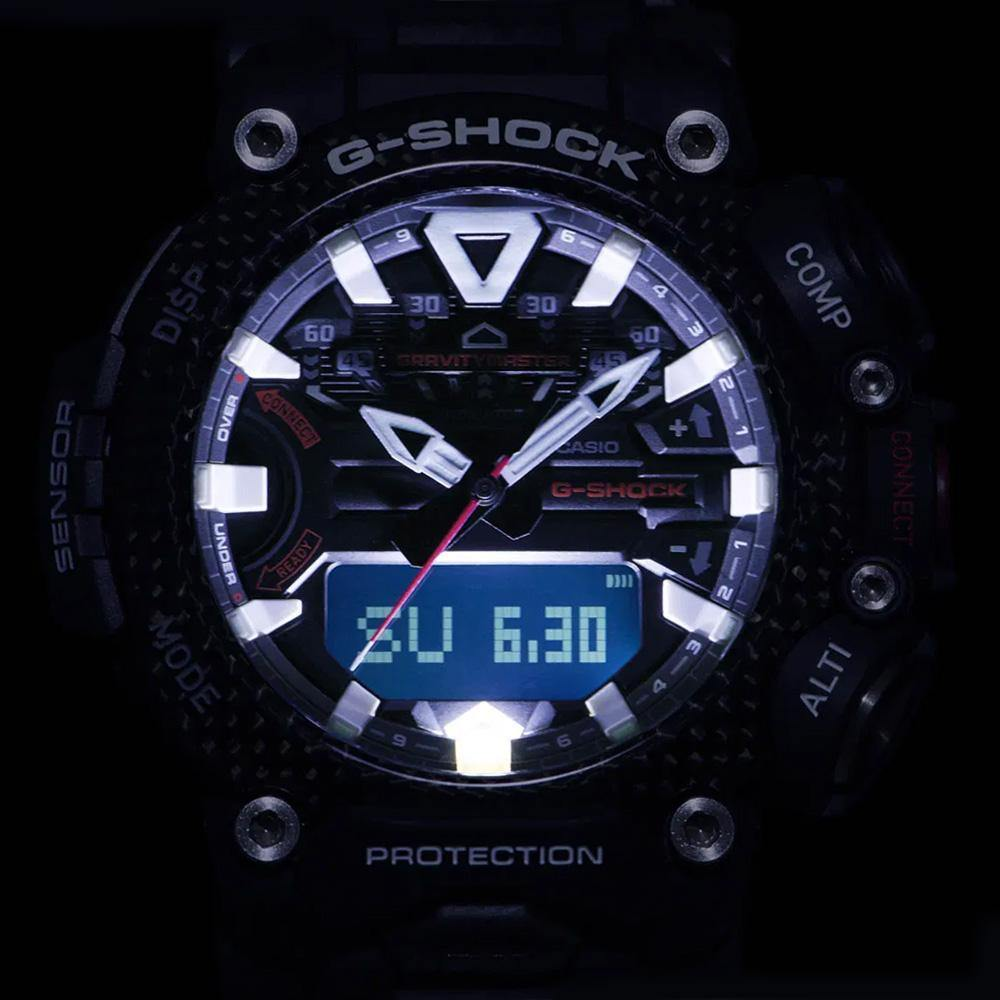 G-Shock Gravitymaster Watch GR-B200-1A9 Light