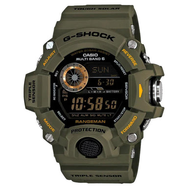 G-Shock Rangeman Green Watch GW-9400-3