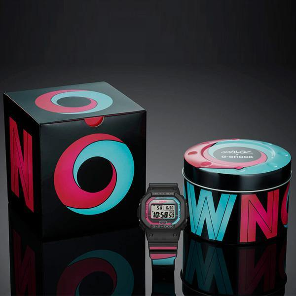 G-SHOCK Gorillaz GW-B5600GZ-1 Packaging