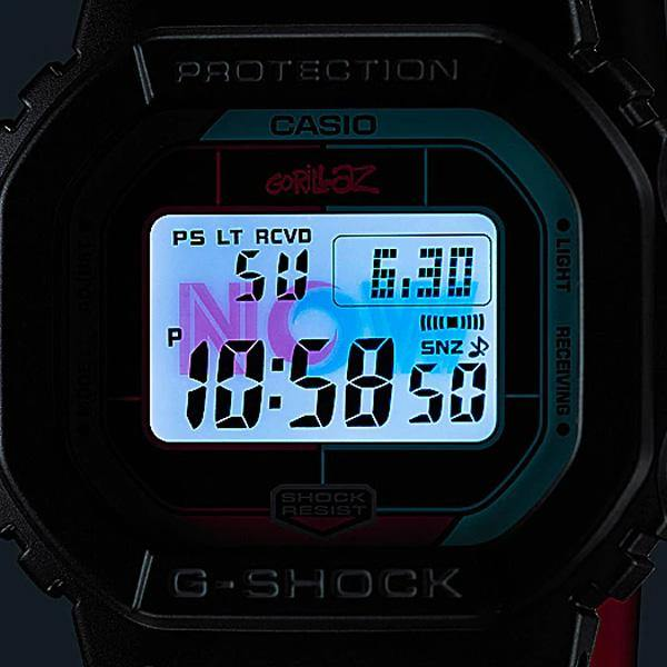 G-SHOCK Gorillaz GW-B5600GZ-1 Back Light