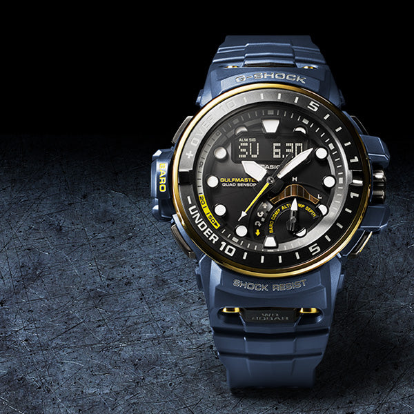 G-Shock Gulfmaster Watch GWN-Q1000NV-2A
