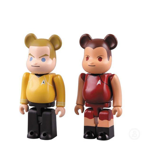 Bearbrick Star Trek Kirk & Uhura 100%