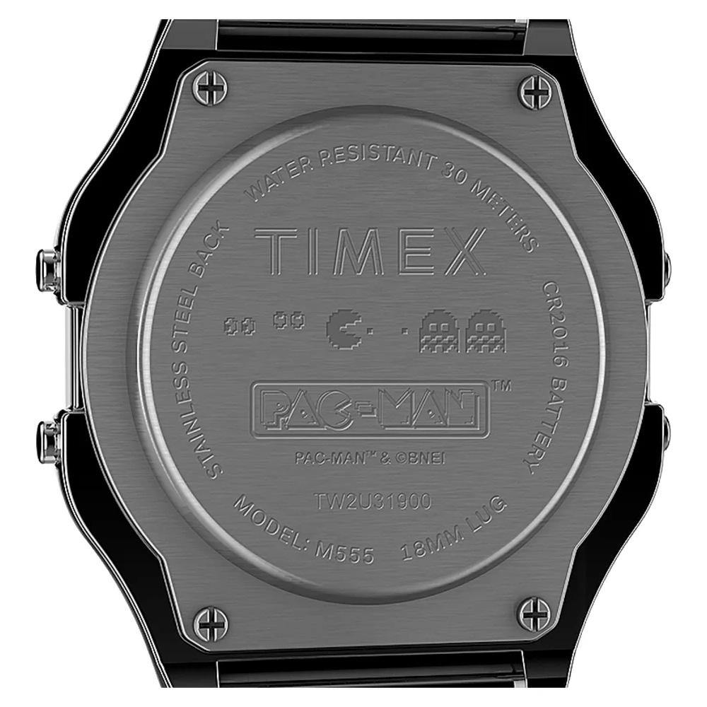 Timex T80 x Pac-Man Silver Watch TW2U31900