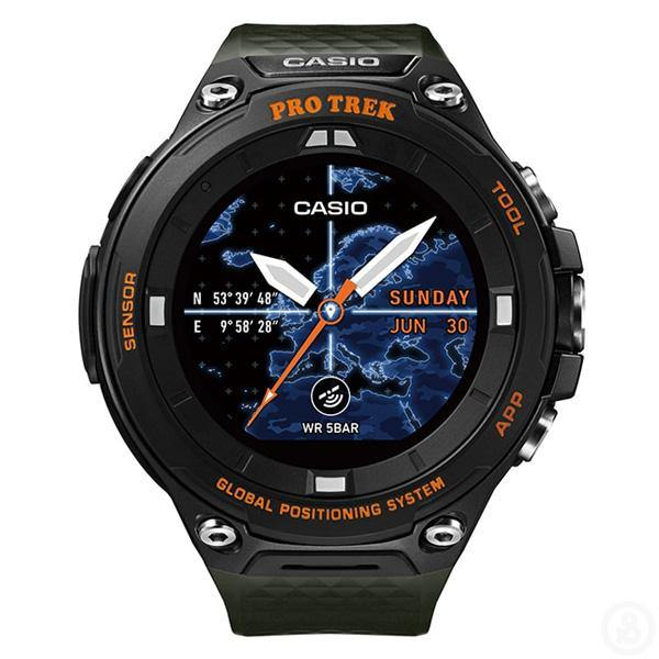 Casio Pro Trek Smart Watch WSD-F20A-GN