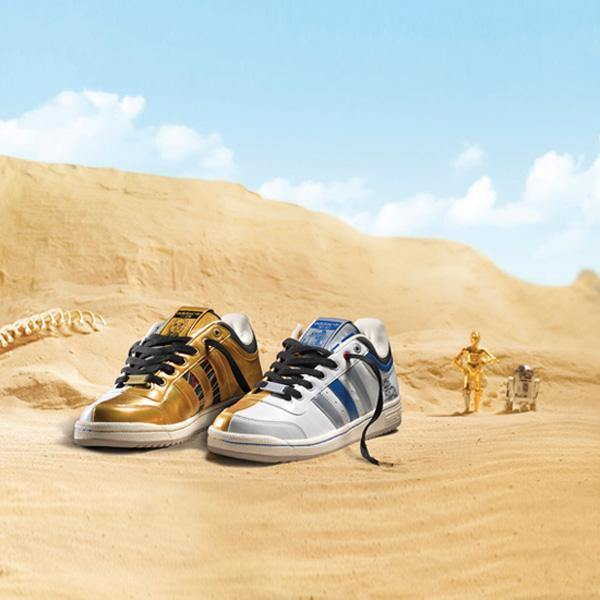 Adidas Originals Star Wars R2-D2 C-3PO Shoes