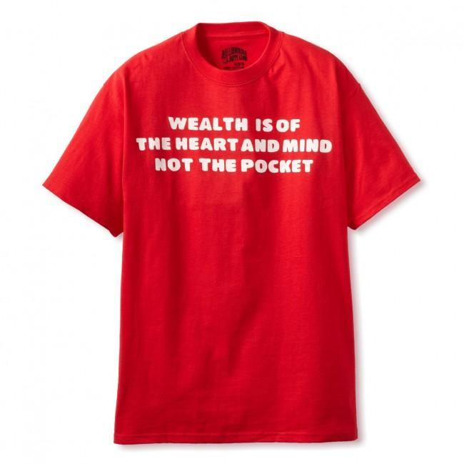 Billionaire Boys Club Mantra T-Shirt Red