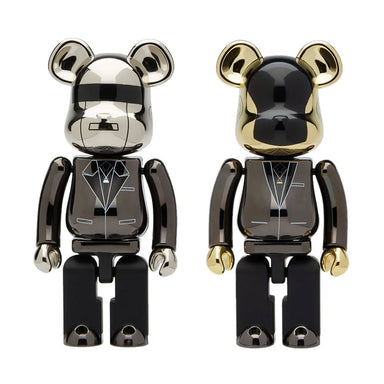 Medicom Toy Bearbrick Daft Punk Super Alloy 200%