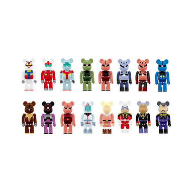 Be@rbrick Pepsi Gundam Set of 16 Mini Figure Straps