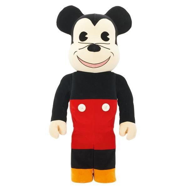 Bearbrick Fabric Mickey Mouse 1000%