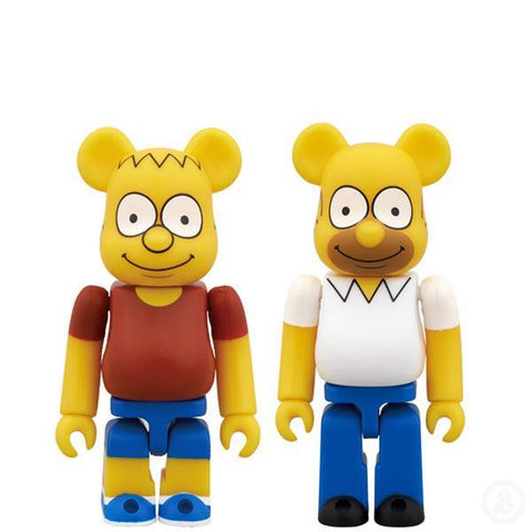 Bearbrick The Simpsons Bart & Homer 100%