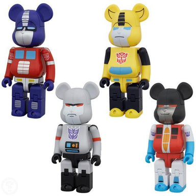 Bearbrick Takara Tomy Transformers Set 200%
