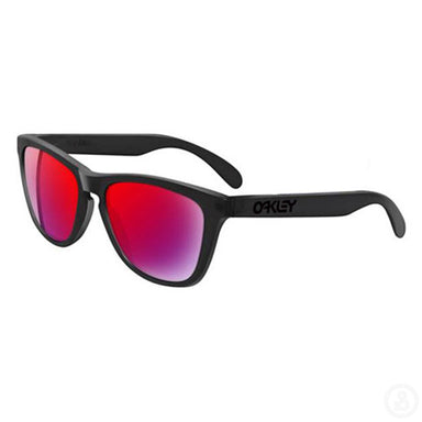 Oakley Frogskins 24-288 Blacklight Black RedIrid Sunglasses