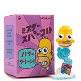 "Kidrobot The Simpsons 3"" Mr Sparkle"