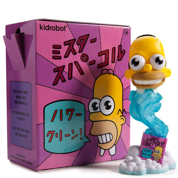 "Kidrobot The Simpsons 7'"" Mr Sparkle"