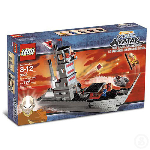 LEGO Avatar Fire Nation Ship 3829