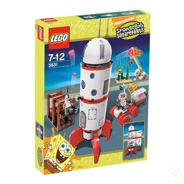 LEGO SpongeBob SquarePants Rocket Space Ride 3831