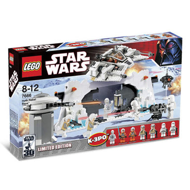 LEGO Star Wars Hoth Rebel Base 7666