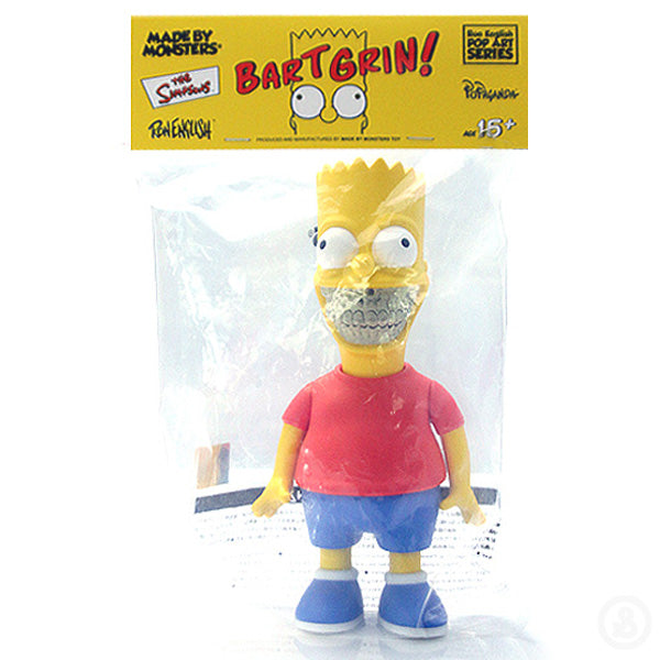 Ron English The Simpsons Bart Grin