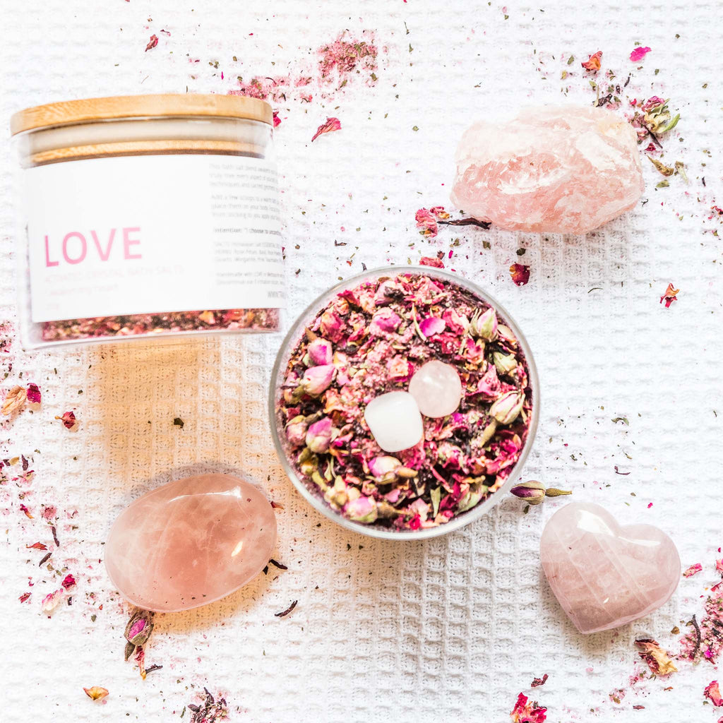 SELF LOVE BATH SALTS - HEART CHAKRA