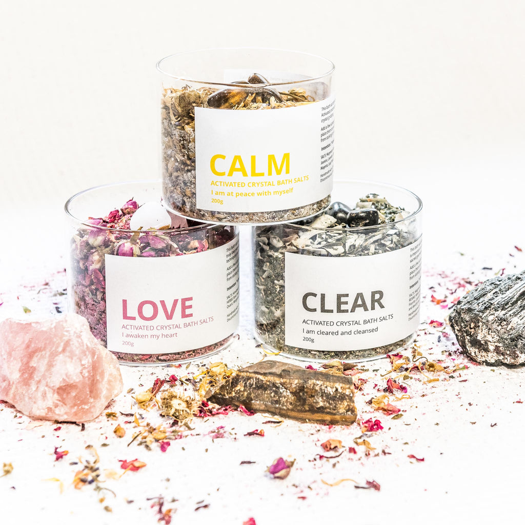 CLEAR - Activated Crystal Bath Salt Blend