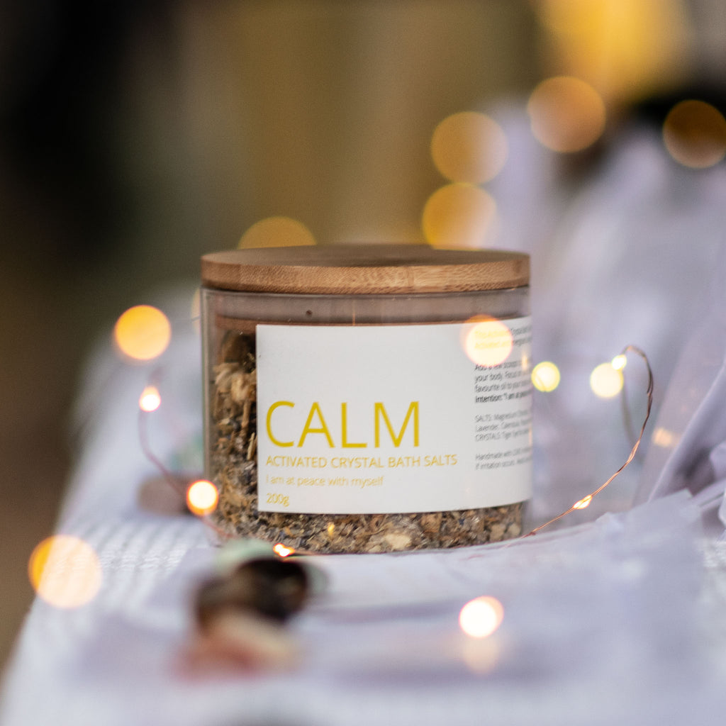CALM - Activated Crystal Bath Salt Blend