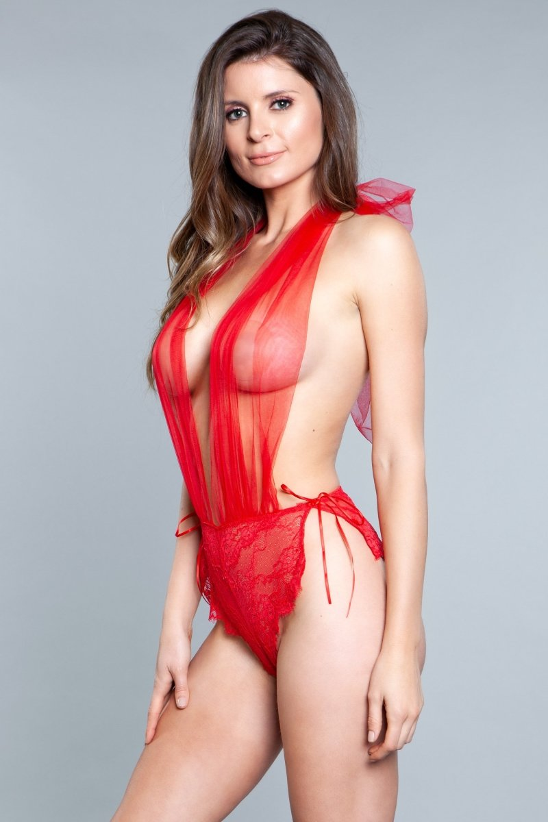 1875 Alessandra Teddy Red