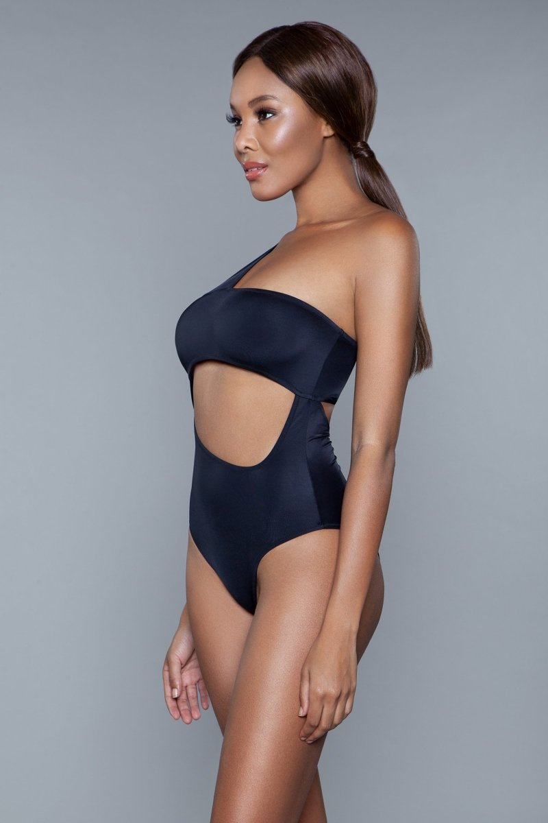 1973 Kennedy Swimsuit Black