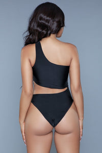 1976 Quinn Swimsuit Black