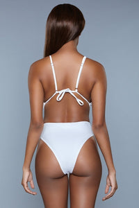 1979 Trinity Swimsuit White