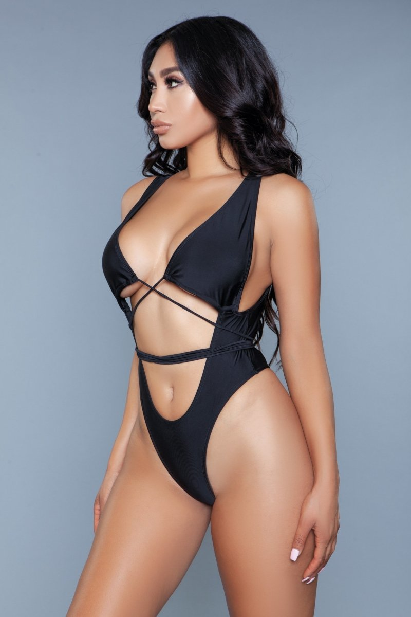 1982 - Makayla Swimsuit Black