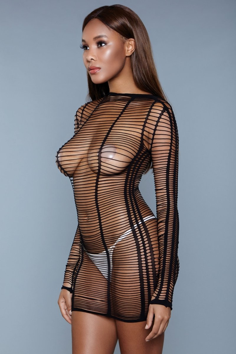 1998 Burn Desire Bodysuit Black