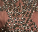 Women's Sparkly Crystals Big Stretch Evening Dress