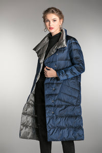 Women's Blue Down jacket
