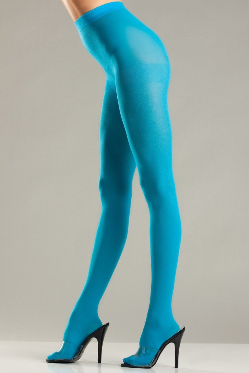 BW620T Opaque Pantyhose - Turquoise