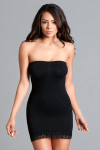 Women's Tube Shape wear Dress - Black