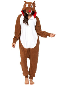 WOLF Adult Women's Onesie