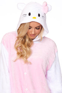 KITTY CAT Adult Women's Onesie