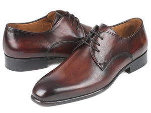 Paul Parkman Antique Brown Derby Shoes (ID#696AT51)