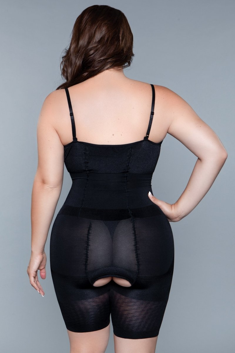 BW1675BK Thinking Thin Body shaper - Black