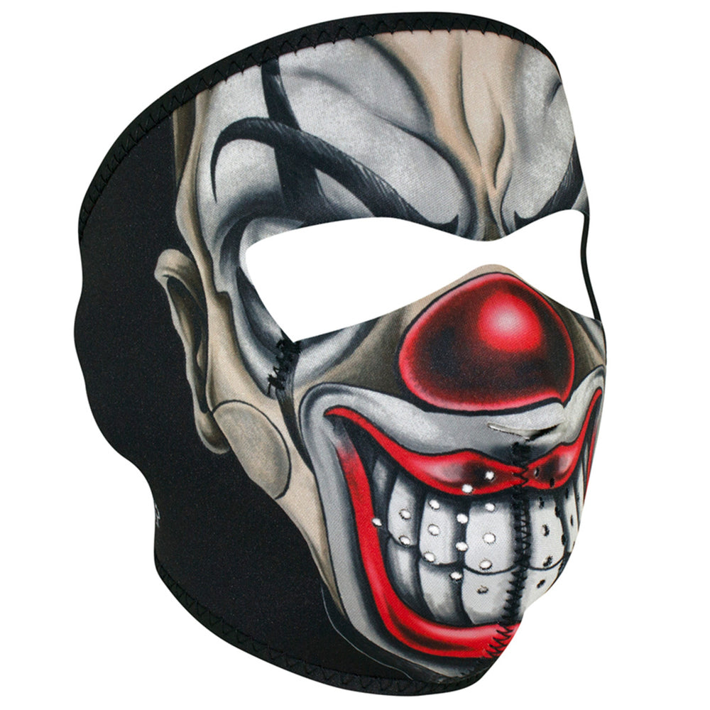WNFM411 ZAN® Full Mask- Neoprene- Chicano Clown