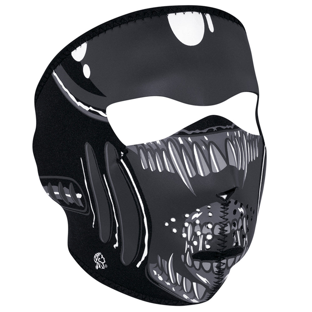 WNFM039 ZAN® Full Mask- Neoprene- Alien