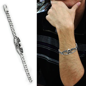 TK572 High polished (no plating) Stainless Steel Bracelet with No Stone in No Stone