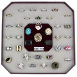 VK-001-SIZE10 Assorted Brass Ring with Assorted in Assorted