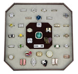 VK-003-SIZE8 Assorted Brass Ring with Assorted in Assorted