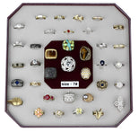 VK-007-SIZE7 Assorted Brass Ring with Assorted in Assorted